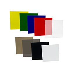 "0.125"" (3.2mm) x 12"" x 24"" White 7328 Acrylic Sheet"