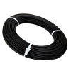 """3/16"""" Black HDPE Round Welding Rod (approximately 88' per lb. coil)"""