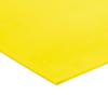 "1/16"" x 24"" x 24"" Yellow Polyuerethane 75A Sheet"