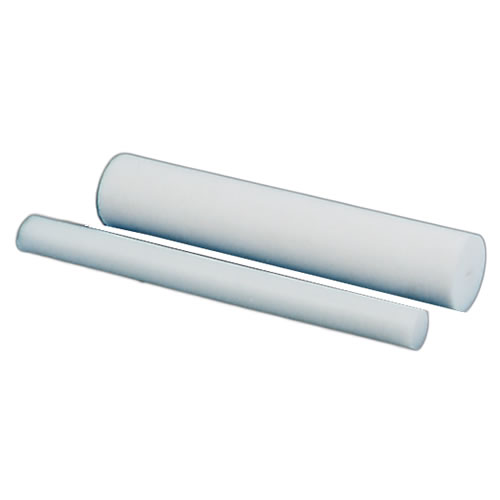 White Acetron® GP Acetal Rod