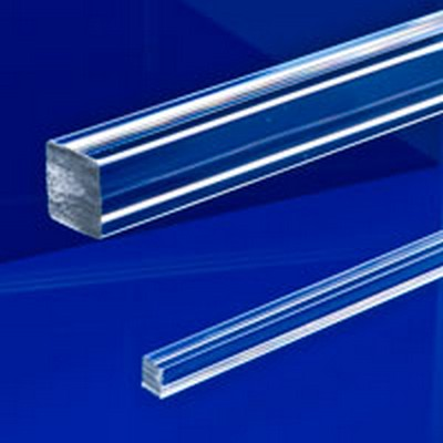 "3/8"" Acrylic Square Rod"