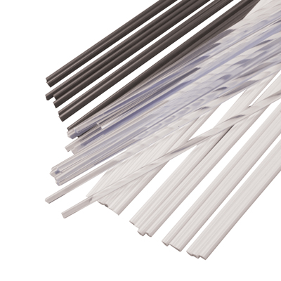 "3/16"" Dia. x 48"" L White PVC-1 Welding Rod (approximately 85' per Lb.)"