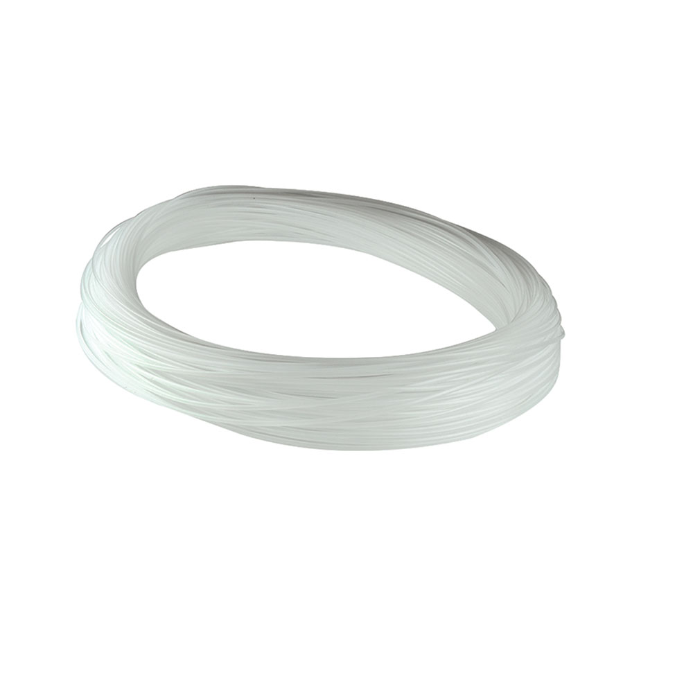 """3/16"""" Natural HDPE Oval Welding Rod (approximately 88' per lb. coil)"""