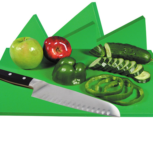 Green Cutting Board for Fruits & Vegetables