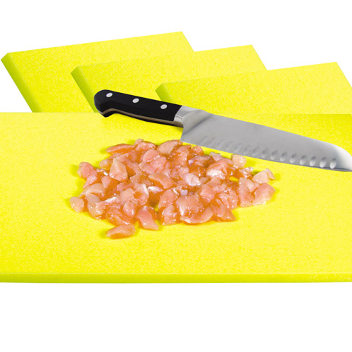 "36"" x 18"" Yellow Cutting Board"