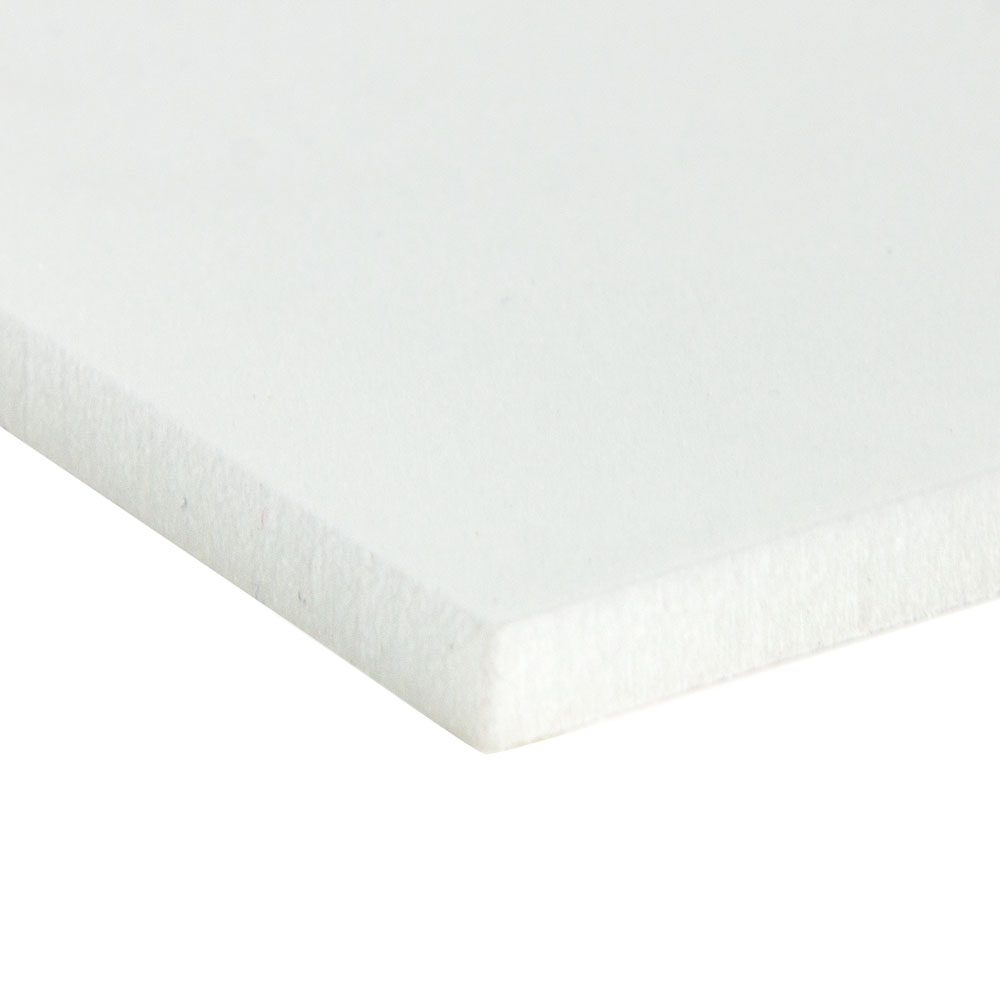 "24"" L x 24"" W x 1/2"" Hgt. 4 lb. Natural Crosslink PE Foam Sheet"