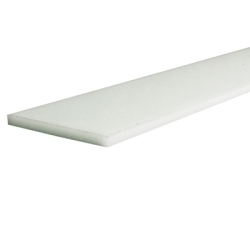 Natural Acetron® GP Acetal Rectangular Bar