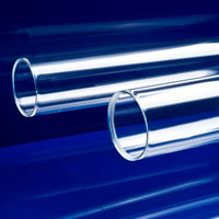"3-1/2"" OD x 1/4"" Wall Clear Cast Acrylic Tubing"