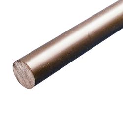 """1/4"""" Dia. Gray PVC Rod"""