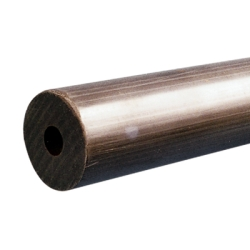 "3"" OD x 1-1/4"" ID Hollow PVC Rod"