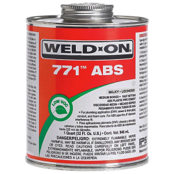 1 Quart IPS ® Weld-On 771™ ABS Cement