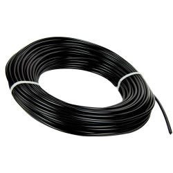 "3/16"" Black LDPE Round Welding Rod (approximately 91' per lb. coil)"