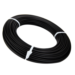 "3/16"" Black HDPE Round Welding Rod (approximately 88' per lb. coil)"