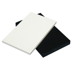 "1/4"" x 48"" x 96"" Polar White Seaboard® UV Stabilized HDPE Sheet"