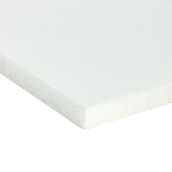 "24"" L x 24"" W x 1/8"" Hgt. 4 lb. Natural Crosslink PE Foam Sheet"