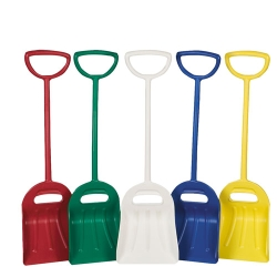 One-Piece Ergonomic Shovels