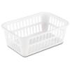 "Sterilite® Storage Basket - 11-1/4"" L x 8"" W x 4-1/4"" H"