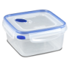 Sterilite® Ultra•Seal™ 5.7 Cup Square Container w/T Blue Accents