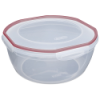 "Sterilite® Ultra•Seal™ 8.1 Quart Bowl w/Rocket Red Accents - 12"" Dia. x 5-5/8"" H"