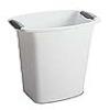 """Sterilite® 3 Gallon White Wastebasket - 11-7/8"""" L x 8-1/2"""" W x 13-1/4"""" H"""