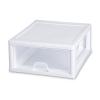 "Sterilite® 16 Quart Stacking Drawer with White Frame - 17"" L x 14-3/8"" W x 6-7/8"" H"