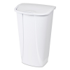 """Sterilite® 11 Gallon White SwingTop Wastebasket - 15-3/4"""" L x 12-3/8"""" W x 25"""" H"""