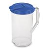 Sterilite® 2 Quart Round Pitcher with Sky Blue Lid