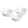 """Sterilite® 20 oz. White Bowls -  6-5/8"""" Diameter x 2-3/8"""" High"""