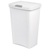 Sterilite® 13 Gallon White TouchTop™ Wastebasket
