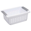 "Sterilite® Small Stacking Basket - 12-1/2"" L x 8-5/8"" W x 5-3/8"" H"