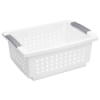 "Sterilite® Medium Stacking Basket - 14-3/4"" L x 10-3/4"" W x 6-1/4"" H"