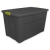 Sterilite® 35 Gallon Gray Latch Tote with Fern Handles