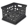"""Sterilite® Black File Crate - 17-1/4"""" L x 14-1/4"""" W x 10-5/8"""" H"""