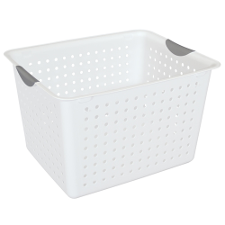 Sterilite ® Deep White Ultra™ Basket - 16
