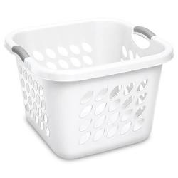 Sterilite ® 1.5 Bushel White Ultra™ Laundry Basket - 19