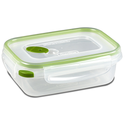 Sterilite® Ultra•Seal™ 3.1 Cup Rectangle Container w/New Leaf Accents