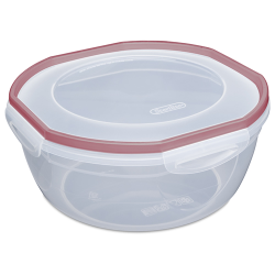 Sterilite® Ultra•Seal™ 4.7 Quart Bowl w/Rocket Red Accents