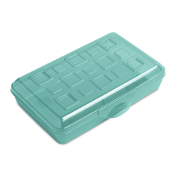 Sterilite ® Splash Tint Pencil Box - 8-3/8
