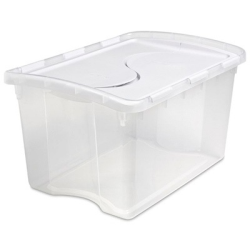 Sterilite® Hinged Lid Storage Box