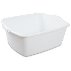Sterilite ® White 18 Quart Dishpan - 17-1/2