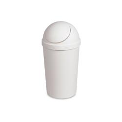 Sterilite ® 3 Gallon White Round SwingTop Wastebasket