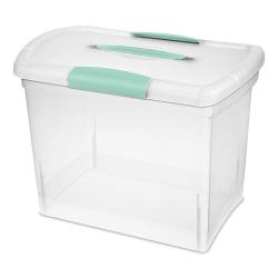 Sterilite ® Large Nesting ShowOffs™ Box w/Aquarium Handle & Latches