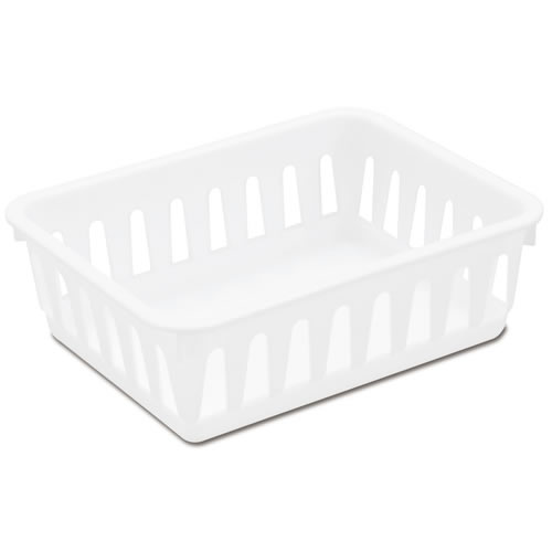 "Sterilite® Mini Storage Tray - 6-3/8"" L x 5"" W x 2-1/8"" H"