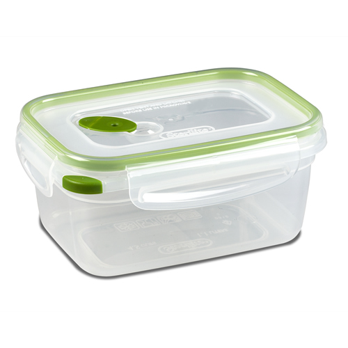 Sterilite® Ultra•Seal™ 4.5 Cup Rectangle Container w/New Leaf Accents