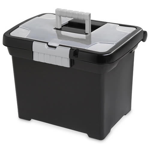 Sterilite® Portable File Box