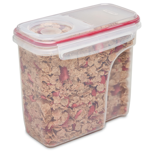 Sterilite® Ultra•Seal™ 16 Cup Dry Food Container w/Rocket Red Accents