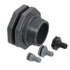 "1/2"" CPVC Loose Tank Fitting - 1.38"" Hole Size"