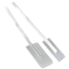 "12"" Polypropylene Mixing Paddle with 2"" x 4"" x 1/8"" Blade"