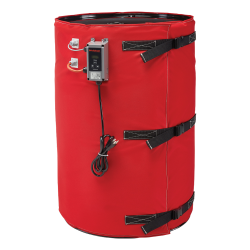 Wet Area Full Coverage BriskHeat ® Heater for 55 Gallon Drum - 600Watts/240VAC