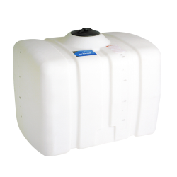 200 Gallon White Flat Bottom Tank, 36